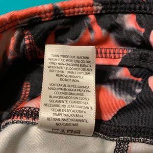 Danskin Pants - Danskin full length black and pink leggings S